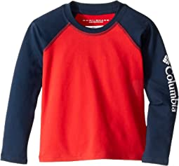 Bright Red/Collegiate Navy/White