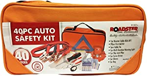 BARGAINS-GALORE 40PC PROFESSIONAL EMERGENCY BREAKDOWN ROAD SAFETY KIT VEHICLE CAR VAN CARAVAN