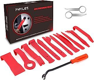 Auto Trim Removal Tool, Phyles 14-delige Auto Trim Wedge Set Automotive Reparatiegereedschap Universeel voor het verwijder...
