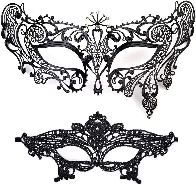 Miker Masquerade Mask damen Shiny Rhinestone Venetian Party Prom Ball Metal Mask B07D3THC7N Glücklicher Startpunkt    Moderate Kosten