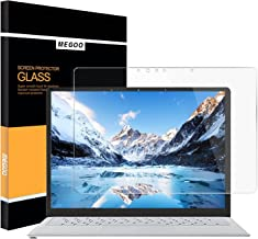 MEGOO Surface Laptop 3 Screen Protector Tempered Glass 2018, Easy Installation/Ultra Clear Screen, Compatible for Microsoft Surface Laptop 2/1-13.5 Inch