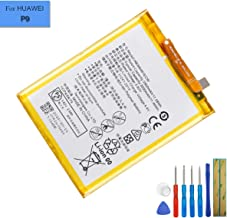 New Li-Polymer Replacement Battery HB366481ECW Compatible with Huawei P9/P9 Lite Honor 8/Honor 8 Youth Edition Venus NEM-UL10 EVA-DL00 2900mah