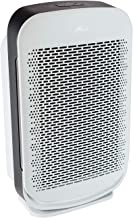 Hunter HP700 Medium Console Air Purifier for Large Rooms Features  Pre-Filter, True HEPA Filter, Multiple Fan Speeds, Soft Touch Digital Control Panel, Sleep Mode, Timer, Accent Light