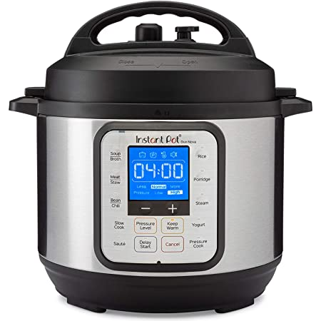 Instant Pot Duo Nova 7-in-1 Electric Pressure Cooker, Slow Cooker, Rice Cooker, Steamer, Saute, Yogurt Maker, 3 Quart, 14 One-Touch Programs, Best For Beginners
