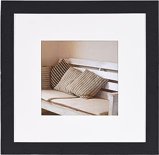 Henzo Driftwood Picture Frame, Wood, Wood, Dark Grey, 30 x 30 x 1.5 cm