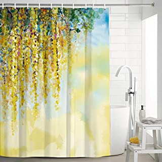 Best yellow shower curtains Reviews