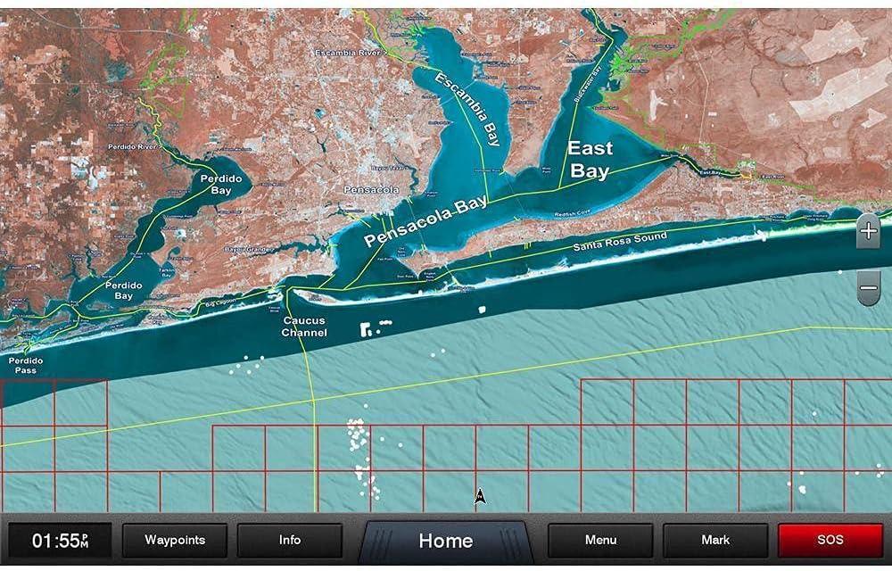 Garmin Standard Mapping - Emerald Coast Professional microSD/S. [010-C1191-00]