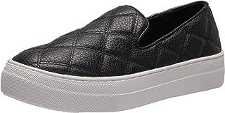 Steve Madden womens Globe Sneaker, Black, 7 US