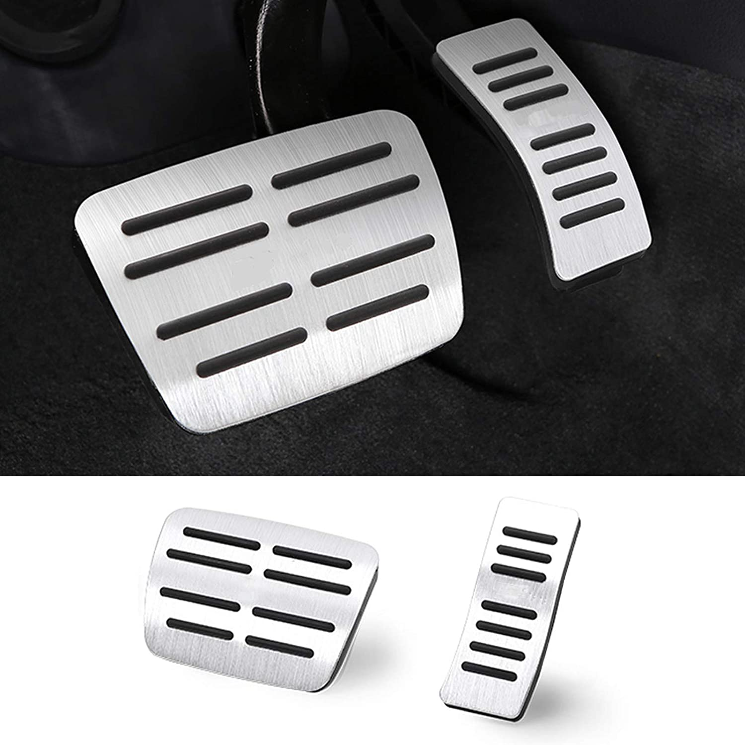 TTCR-II Ranking TOP11 Pedal Covers Compatible with Audi A3 Q3 Q A4 A5 A7 A8 Surprise price A6