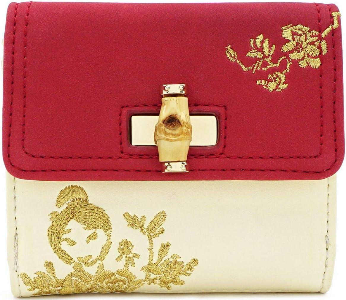 Loungefly Mulan Bamboo Lock Wallet, Multi, One Size