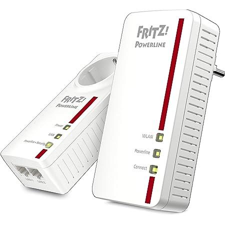 Avm Fritz Powerline 1240e 1000e Wlan Set Computer Zubehör