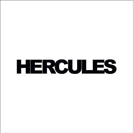 Supersticki 2x Hercules Schriftzug Ca 20cm Motorrad Aufkleber Bike Auto Racing Tuning Aus Hochleistungsfolie Aufkleber Autoaufkleber Tuningaufkleber Hochleistungsfolie Für Alle Glatten Fläc Auto