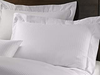Westin Pillow Sham - 1 Soft, 230 Thread Count Cotton Pillow Sham with Signature Shadow Stripe - King (20