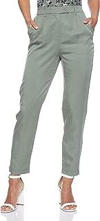 Vero Moda Women's Formal Pants, in Laurel Wreath, Size: 36 EU (Manufacturer Size:Small)