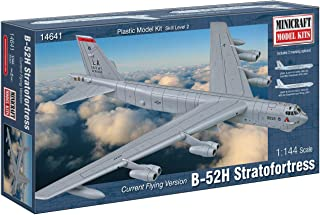 Minicraft B-52H Stratofortress Model Building Kit, 1/144 Scale