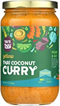 product image for YAI'S THAI, Thai Coconut Curry, Yellow, Pack of 6, Size 16 OZ, (Gluten Free Low Sodium Vegan)