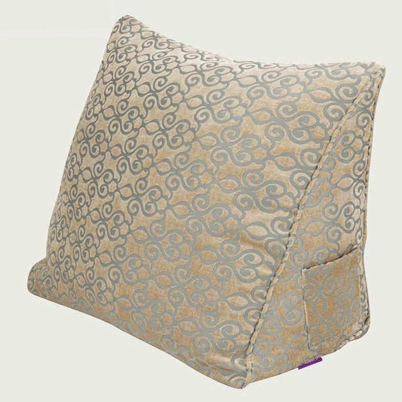 HUANLIN Coussins triangulaires en coton Oreiller Oreiller Oreiller taille par sac 60  50  25cm