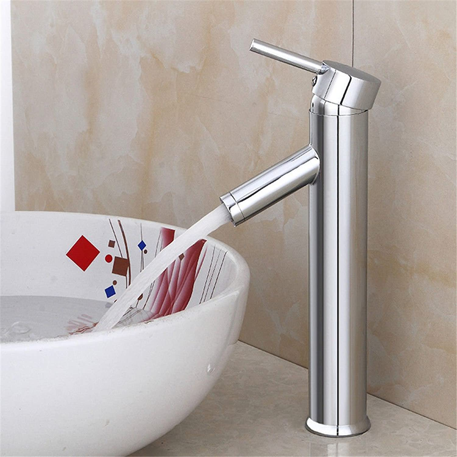 Modern simple copper hot and cold kitchen sink taps kitchen faucet Copper pull-out copper faucet faucet hot and cold mixed bathroom basin faucet Suitable for all bathroom kitchen sinks
