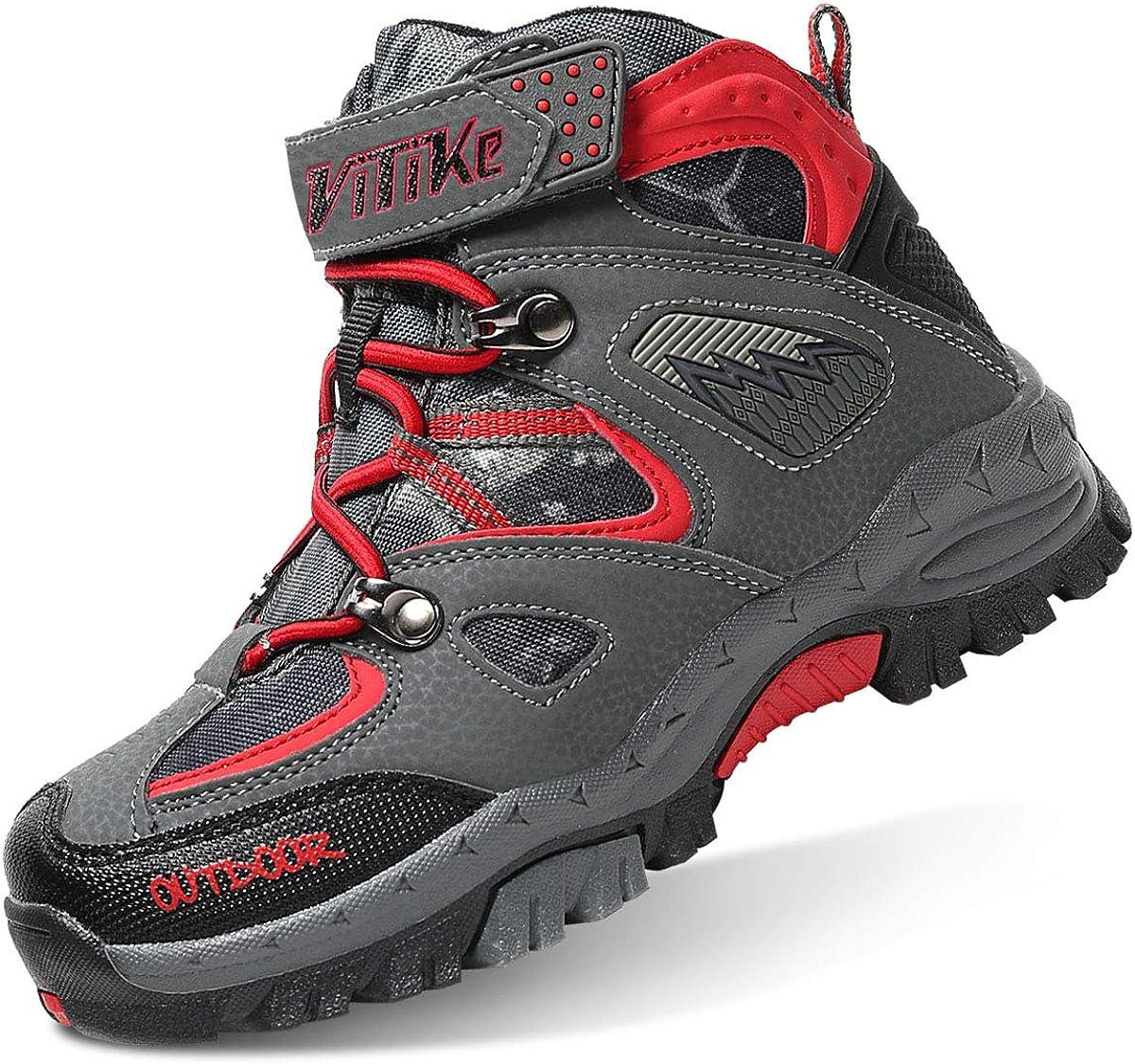 VITIKE Kids Boys Girls Snow Boots Cleat Ice With Award Hiking Kansas City Mall