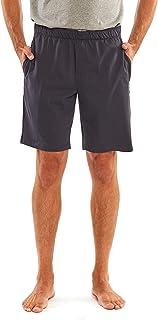 Savile Row Company Men's Navy Cotton Jersey Lounge Shorts