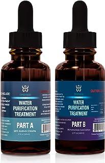 Oneness Chlorine Dioxide Kit 2 Part Liquid Classic 1:1 Set Hydrochloric Acid 5% (HCl) : Sodium Solution 28% (2oz)