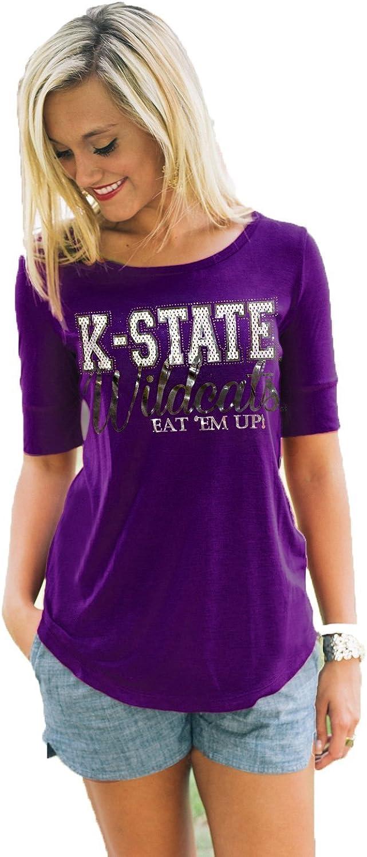 Kansas State Half Sleeve color TEE
