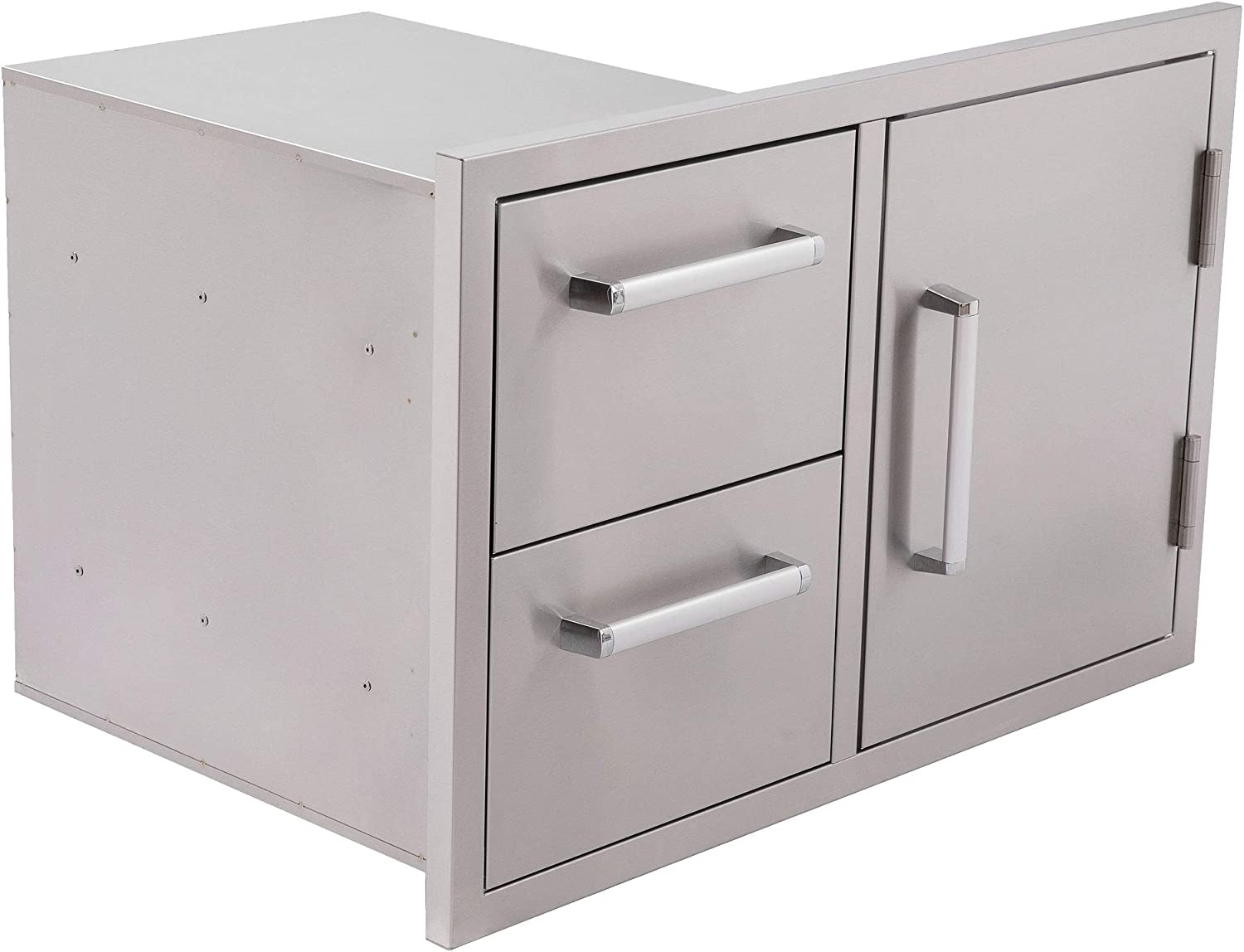 Bonfire San Antonio Mall Outdoor Kitchen Super special price Drawers and Door BBQ Access Drawe Double