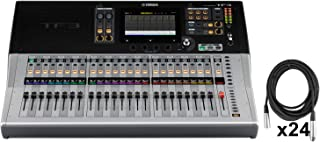 Yamaha TF3 Digital Mixing Console 25 Motor Faders 48 input w/ 24 XLR Cables