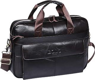 5101c8ce2e BOLO 13 14 pollici Cartella per laptop fatto a mano Pelle ventiquattrore  Spalla aziendale Borsa da