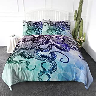 Best octopus comforter bedding Reviews