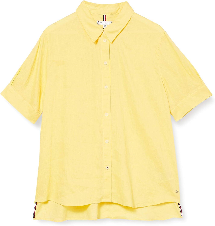 Tommy Hilfiger TH Essential Penelope Shirt SS Maglietta Donna