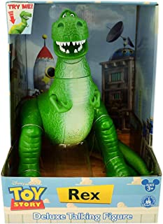 Disney Parks Exclusive Toy Story Talking Rex Dinosaur 12-Inch Action Figure Doll