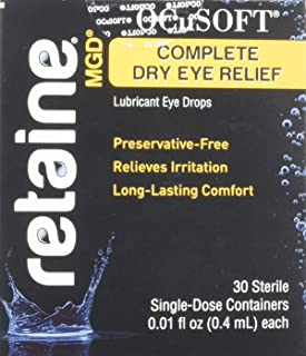 Ocusoft Retaine Mgd Ophthalmic Emulsion Sterile Containers - 30 Ea