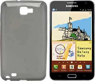 Omenex 687060 Silicone Case for Samsung Galaxy Note Transparent