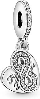 Pandora Women 925 Silver White Zircon FASHIONOTHER (791948CZ)