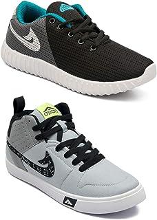 ASIAN Men's Running Shoes (Set of 2 Pairs)