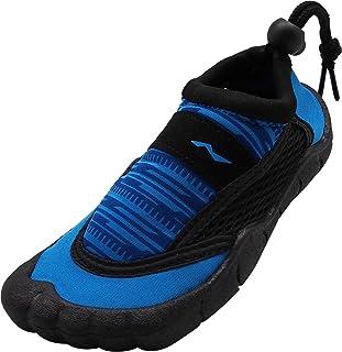 cf63f1104 NORTY Little Kids Toddler Aqua Water Socks - Waterproof Slip-on Shoes for  Pool