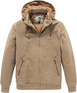 Men's Casual Thickened Winter Cotton Jacket with Detachable Hood