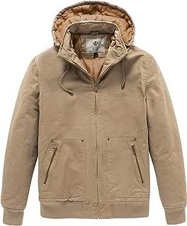 capetown safari khaki hooded jacket