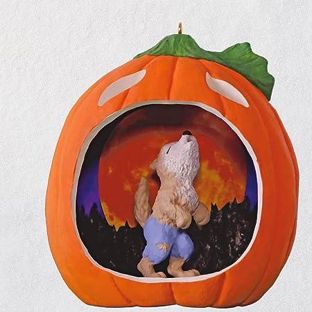 2018 Hallmark Keepsake Ornament Caramel Apple Goodness Halloween Spiders B39