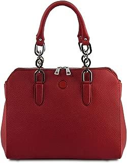 Tuscany Leather Lilia Leather handbag Red