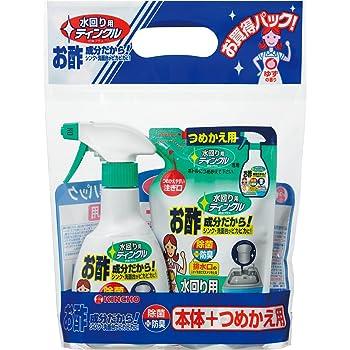 大日本除虫菊 水回リ用ティンクルペア防臭プラス 本体・詰め替えセット