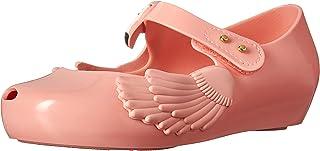 حذاء باليه مسطح بتصميم فتاة ألترا جيرل الصغيرة للجنسين من ميليسا
