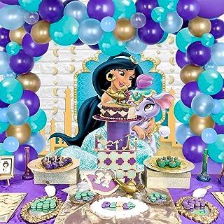 Princess Jasmine Pearl Genie Lamp /& Mosaic Birthday Party Favor 6 Bracelet Princess Jasmine birthday Aladdin Birthday Jasmine Party 8