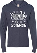Go All Out Adult Stand Back I'm Going to Try Science Deluxe Triblend Hooded T-Shirt