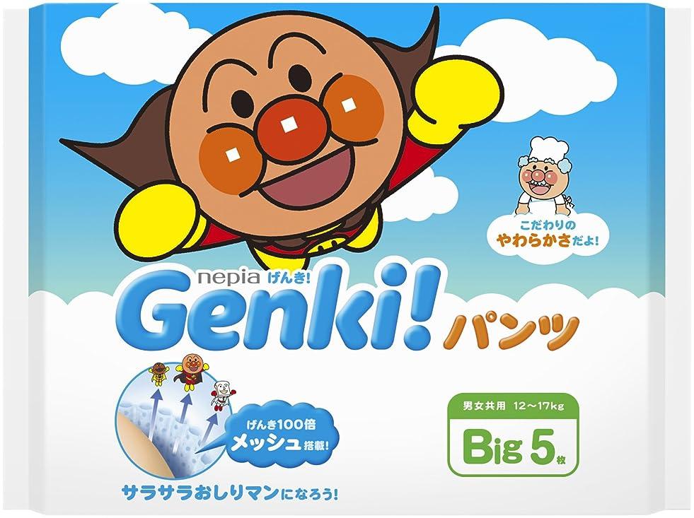 入射基本的な恨みネピア GENKI!  パンツ BIGサイズ 5枚