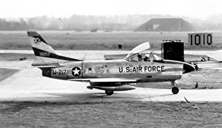 Home Comforts 526th Fighter-Interceptor Squadron North American F-86D Sabre 51-6217 Vivid Imagery Laminated Poster Print 24 x 36