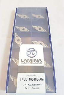 Lamina T0001032 skärplatta WSP VNGG 160408 ALU LT 05-kvalitet: Premium, 10 stycken
