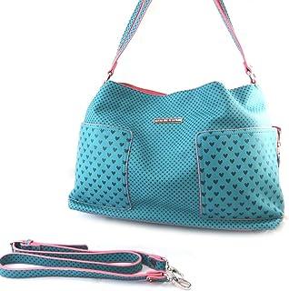 french touch bag Agatha Ruiz De La Pradaturquoise - little hearts ·