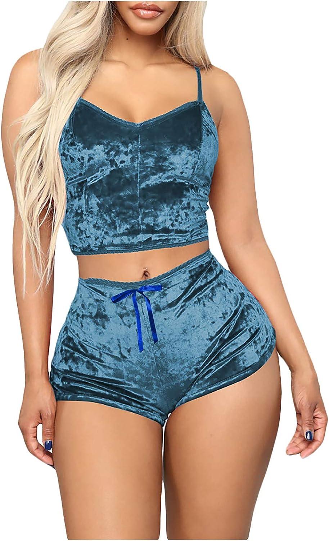 Sexy Lingerie for Women,Lingerie Set for Women Lace Lingerie Babydoll Halter Sleepwear Soft Nightwear